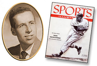 Image of Bud Porter and old Sports Illustrated cover