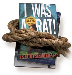 image of book tied with rope